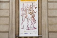 """Exposición """"Ars Librorum"""" - Banderola en la fachada"""
