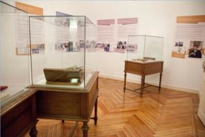 Sala 2 de la exposición Historia de la Urología Hispánica