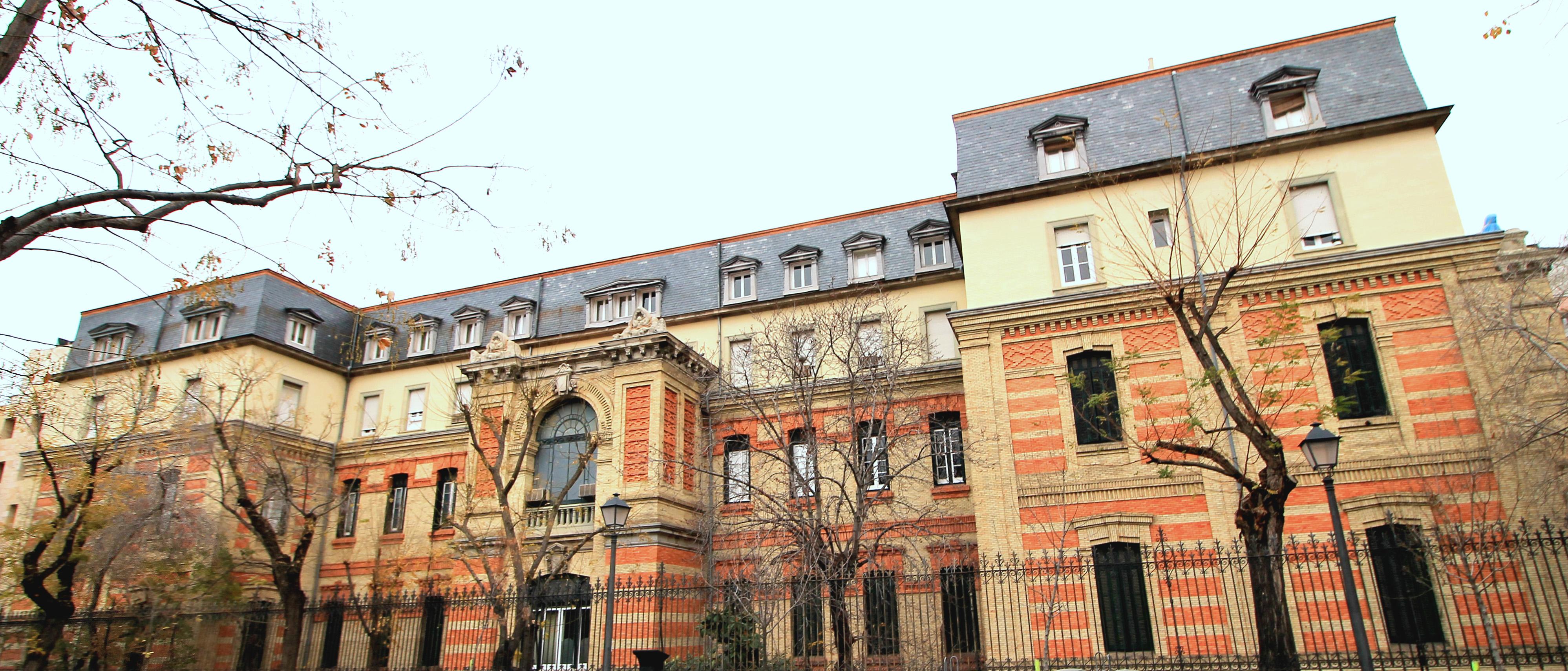 Instituto Oftálimico construido en 1902