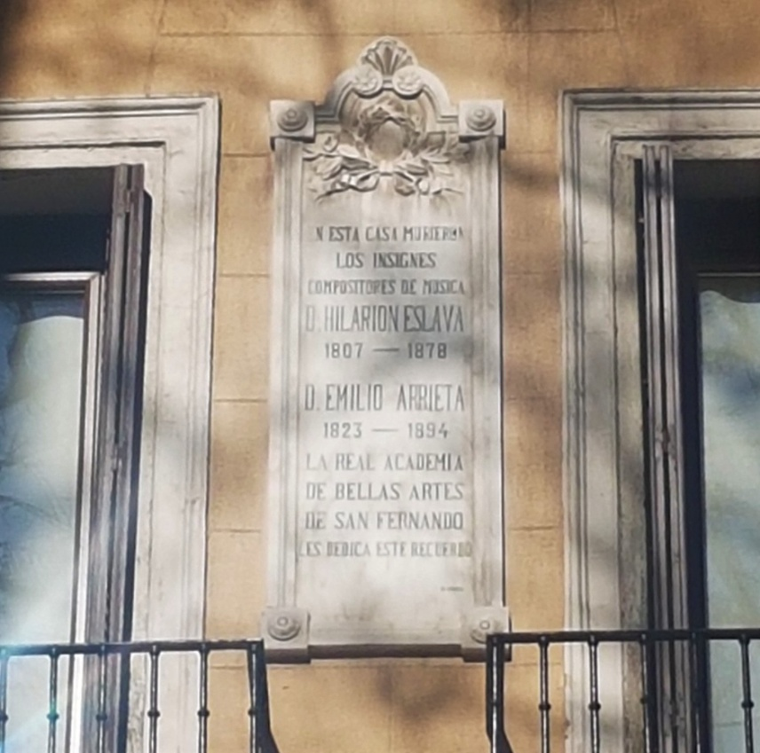 Placa conmemorativa Arrieta
