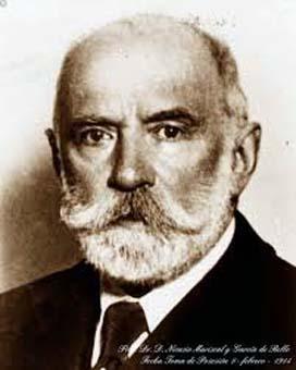 Retrato del Dr. Nicasio Mariscal y García de Rello